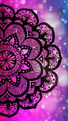 Apple Wallpaper Iphone, Phone Screen Wallpaper, Galaxy Wallpaper, Cellphone Wallpaper, Cool Wallpaper, Wallpaper Backgrounds, Mandala Drawing, Mandala Painting, Mandala Art