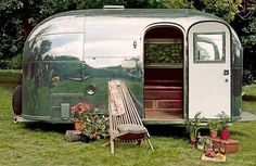 Restored Airstream Bambi