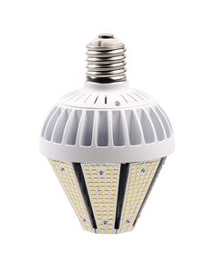 This Type D LED stubby light Post HID/HPS/MH Replacement Bulb available in 30w,40w,50w,60w and 80w,This unique and specially engineered lamp is the perfect replacement for up to 100-250 watt Metal Halide/HPS/HID lamps in fixtures that have vertically or horizontally mounted lamps such as Street Lights, Post Lights, Low Bay's and Shoeboxes, Excellent for use in the traditional types of inclosed fixtures