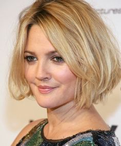 medium length hairstyles for round fat faces ...