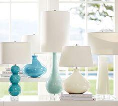 Cerena Ceramic Statement Table Lamp | Pottery Barn