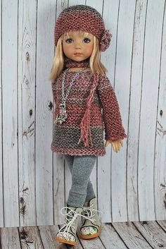 "Inspiration only... This is a 13"" Little Darling Doll by Dianna Effner.:"
