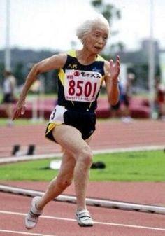 Mitsu Morita [ Born in 1923. 93years old Sprinter ] / 守田 満 大正十二年生 九十三歳 - Wikipedia