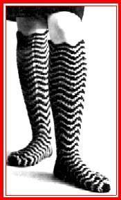 One more pair – Knee socks in crochet! – Grandmother's Pattern Book