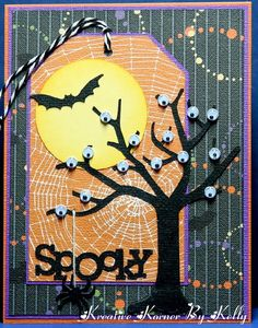 DIY: Awesome Halloween Tags Design Pictures - Stampin' up - halloween cards