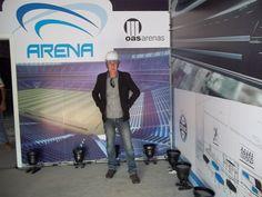 Arena do Grêmio / Apresentação dos camarotes / Arquivo Jornal estação de Notícias