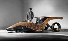 Carro de bambu
