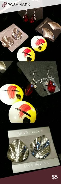 EARRINGS 4 for $ 5  All New Never worn  * * Mix N Match w / my other listings Jewelry Earrings