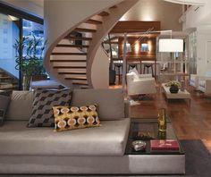 16 estilos de iluminação em Duplex
