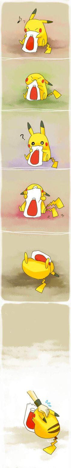 Pikachu's  ketchup