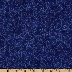Moda Marble Swirls (9908-24) Royal Blue from @fabricdotcom%0A%0ADesigned for Moda Fabrics, this classic blender cotton print features white swirls on a royal blue marbled background.