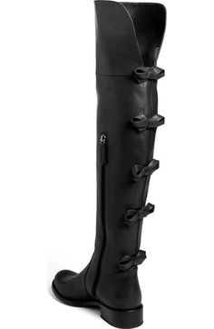 Free shipping and returns on Valentino Bow Over the Knee Boot at Nordstrom.com. A quintet of bows lends signature femme to a svelte boot cast in smooth leather.