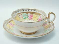 Bell Vintage Fine Bone China Tea Cup and Saucer