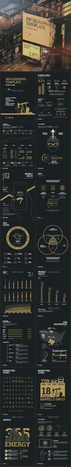 Business infographic template  — EPS Template #edit #bar • Download ➝ https://graphicriver.net/item/business-infographic-template/18381815?ref=pxcr