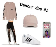 """""""Inspiration from Tessa Brooks"""" by genesiswwe on Polyvore featuring Victoria's Secret and adidas"""