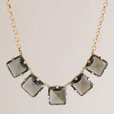 Majesty stone necklace from jcrew.com