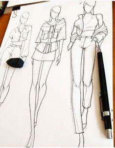 Harry sandi harry_sandi photos and videos Fashion Illustration Tutorial, Fashion Drawing Tutorial, Fashion Figure Drawing, Fashion Model Drawing, Fashion Drawing Dresses, Fashion Illustration Dresses, Illustration Mode, Design Illustrations, Medical Illustration