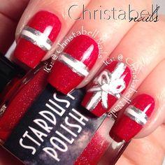 christmas by christabellnails #nail #nails #nailart