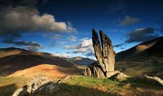 Split Stones Glenlyon - Scotland. Birthplace of some of my McArthur ancestors.