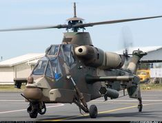Attack Helicopter Ground Taxi