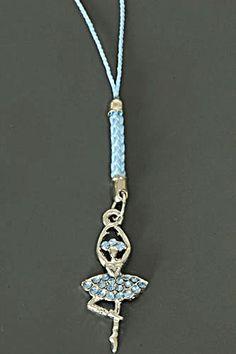 """""""Ballerina"""" hanger for your bag or phone. For sale at Trendy Goodies. http://www.trendygoodies.nl/Ballerina-GSM-Tassenhanger"""