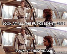 Obi-Wan Kenobi & Anakin Skywalker - Star Wars Episode III: Revenge of the Sith Star Wars Meme, Star Wars Art, Star Trek, Anakin Vs Obi Wan, Disney Pixar, Funny Disney, Sherlock, Ewan Mcgregor, Star Wars