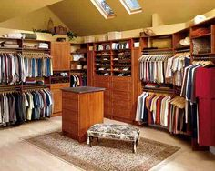 Hmm quite the walk in closet ....