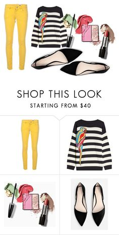 """Sunny Sunday #anikle #stylista #bloger #Fashion #yellow"" by andzelika-niklewicz on Polyvore featuring M Missoni, Marc Jacobs and MANGO"