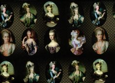 8 portraits of Marie Antoinette Lady portrait by KoenigsbergerShop
