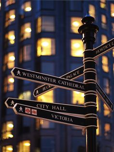 London street signs .. I Miss You London !!