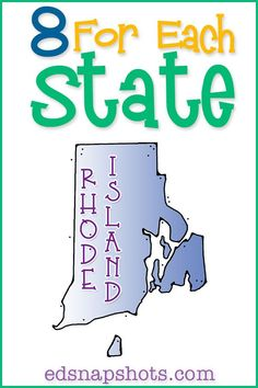 US Homeschool Geography study for Rhode Island
