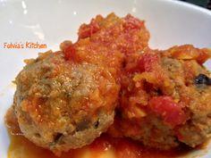 Fulvia's Kitchen: #Polpette con #melanzane al #sugo #Polpapiù di #Cirio