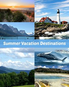 Summer Vacation Destinations in the USA. Finding the perfect summer travel destination may seem daunting, but it's easier than you think. The best summer vacation spots may be closer than you think! See my top picks on the blog: http://scrappygeek.com/summer-vacation-destinations/