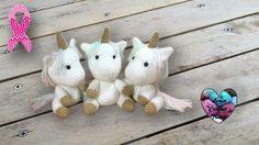 Bébés Licornes Amigurumi crochet 🦄🦄🦄 - YouTube
