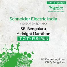 As the leading specialist in Energy Management our mission has always been to help people change their lives through 'Access to Energy'. We are going to donate 1 kWh for every km that is run by the participants at the BMM IT CIty Fun Run. Download the Energy Marathon app from here and help save energy for those in need! If you are the top energy saver till the race day, you also stand to win exciting prizes! Hurry!
