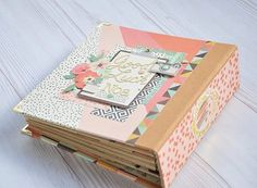 #album #minialbum #love #scrapbook #scrapbooking #reset #girl #simplestories Simple Stories, Reset Girl, Graphic 45, Albums, Decorative Boxes, Scrapbooking, Mini Albums, Cover Pages, Scrapbooks