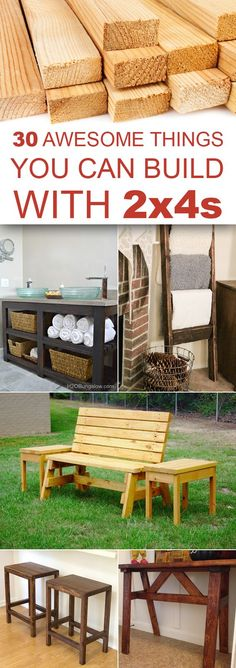 30 Awesome Things You Can Build With 2x4s: