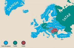 2na llengua més parlada a cada país