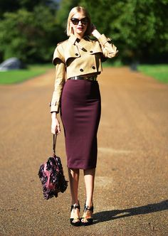 The virtues of a good Pencil Skirt