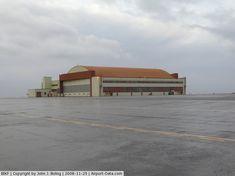 Former US Navy hangar at Keflavik, Iceland