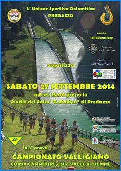 3° Prova Campionato Valligiano Corsa Campestre a Predazzo