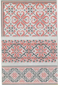 ukrainian folk embroidery, but perfect for Hmong clothes for Soph Palestinian Embroidery, Hungarian Embroidery, Folk Embroidery, Learn Embroidery, Cross Stitch Embroidery, Embroidery Patterns, Cross Stitch Borders, Cross Stitch Charts, Cross Stitch Designs