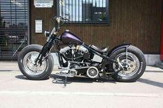 Softail Bobber, Bobber Bikes, Harley Bobber, Harley Softail, Bobber Motorcycle, Motorcycle Garage, Rat Bikes, Classic Harley Davidson, Harley Davidson Chopper
