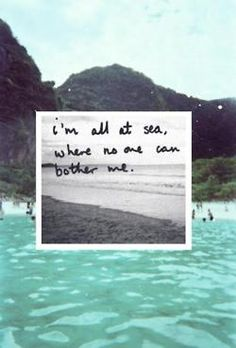 And my sea.. BE WHEREEVER I BE <3