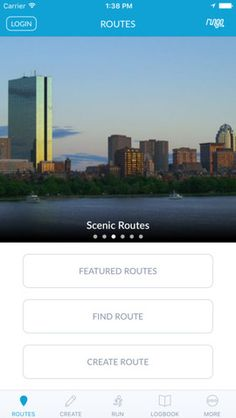 The only running app that lets you create routes right on your phone and then run them with GPS voice navigation. That's not all! RunGo also tracks your run stats like time, pace, distance and elevation. For those who love to travel & explore, RunGo features an extensive library of routes worldwide curated by local running communities.   #GPS #Navigation #Running #ios #iosapps #Appstore