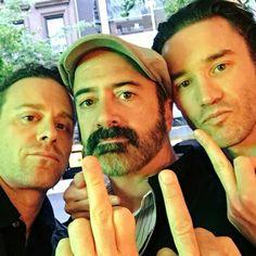Matthew Rauch, Matt Servitto & Tom Pelphrey #Banshee