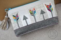 Broken Arrow Zippy Pouch | Lindsey (link is to Flickr photo only)