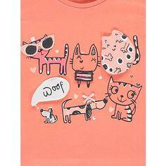 Animal Print 2 Pack Tops | Kids | George