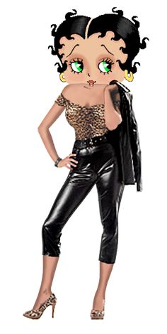 Grease is the Word photo by khunPaulsak - Betty Boop as leather Sandy