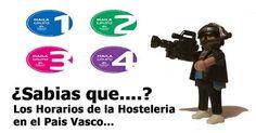 Los Horarios de cierre de los locales de hostelería y de espectáculos del Pais Vasco